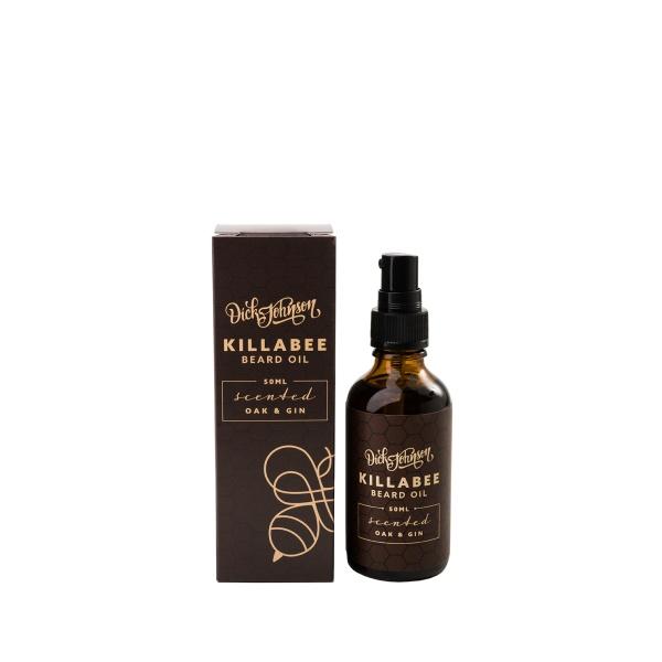 Dick Johnson Killabee Oak & Gin Beard Oil 50ml-0